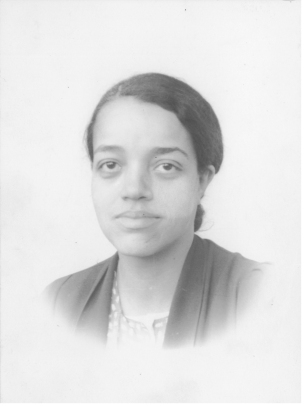 Dorothy Vaughan in her twenties.